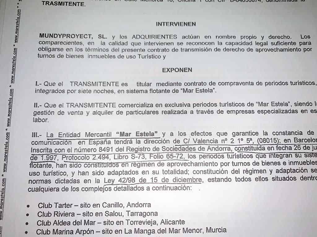 Contrato Nulo Abogados Sentencias de multipropiedad, opiniones de abogado de multipropiedad, vender semanas